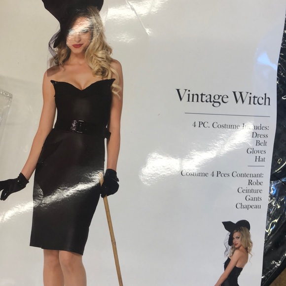 Vintage Witch - 4PC Leg Ave Costume